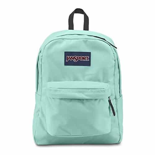 Jansport Superbreak Backpack in Mint | School supplies | Mint Green Outfits