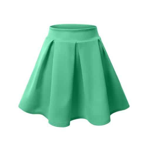 J.TOMSON Basic Skater Skirt