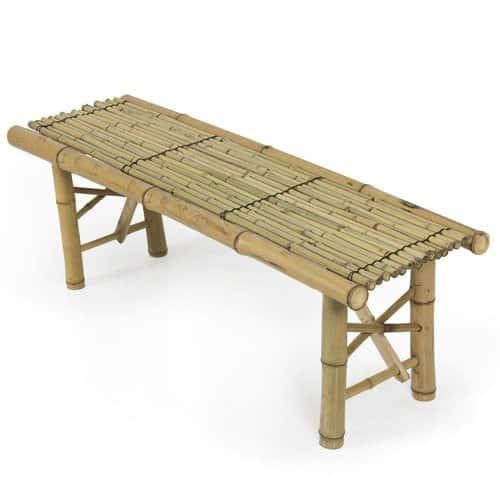 Outdoor Bamboo Bench