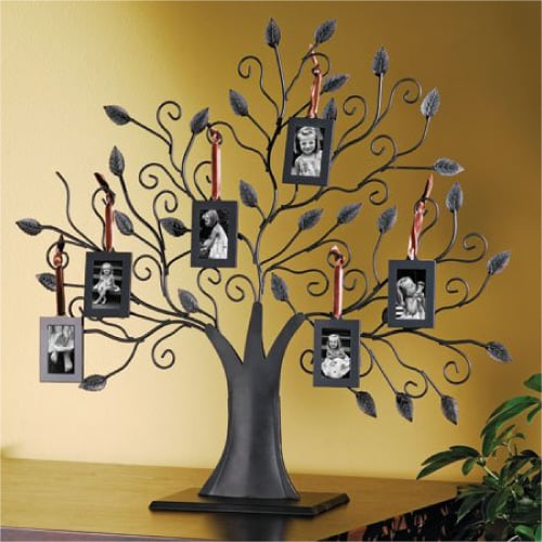 Bronze Family Tree Picture Frame