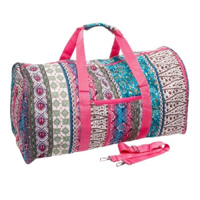 Bohemian Paisley Duffle Bag