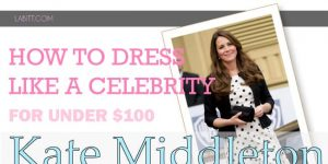 Dress Like Kate Middleton