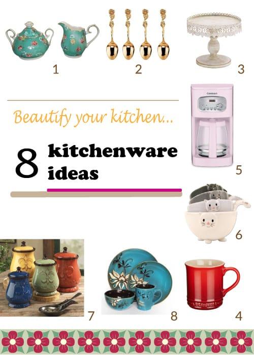 beautiful kitchenware ideas