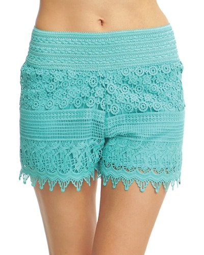 Mint Lace Shorts | Mint Green Outfits