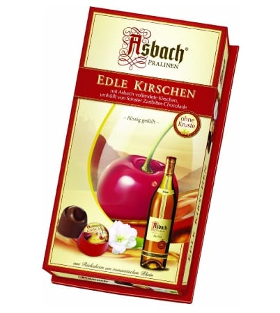 Asbach Brandy Chocolate Cherries Gift Box