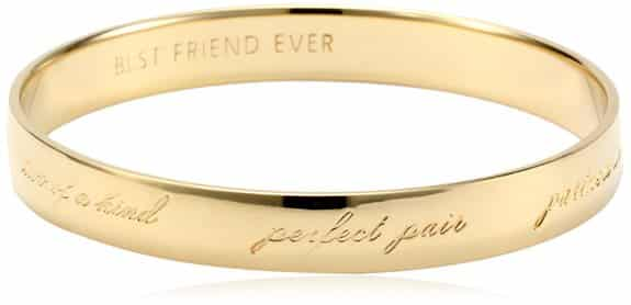 "kate spade new york ""Best Friend Ever"" Bangle Bracelet"