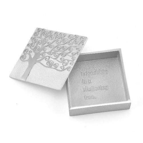 Vilmain Pewter Treasure Box