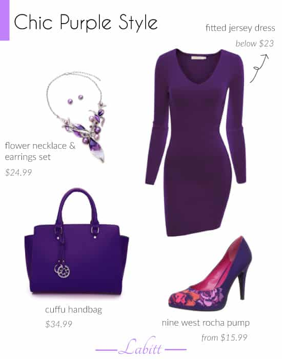 Chic Purple Style