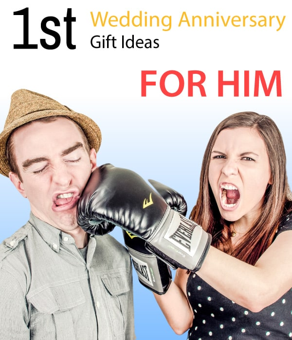 1st Paper Wedding Anniversary Gift Ideas for Him
