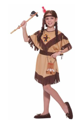 Native American princess Pocahontas