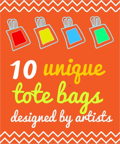 Unique Tote Bags Designed by Artists