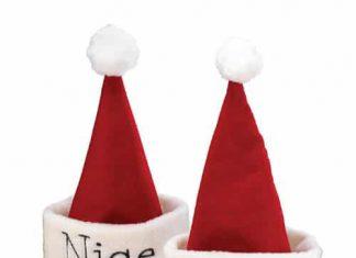 Festive Santa Holiday Hat