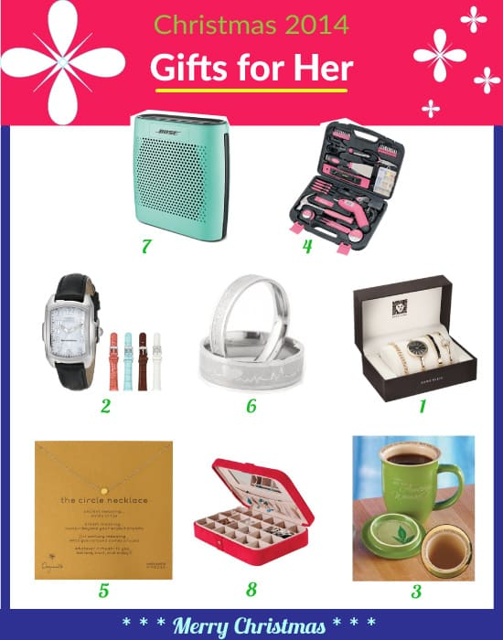 Best Christmas Gift Ideas for Your Girlfriend [2018] ⋆ Metropolitan ...