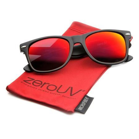 zeroUV Matte Reflective Sunglasses