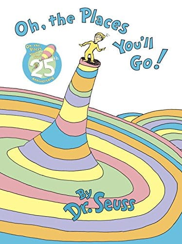 high school graduation gift for her - Dr. Seuss book Oh, The Places You'll Go!