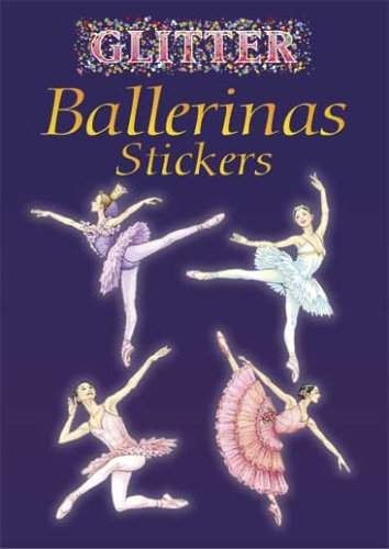 first dance recital gift ideas - Glitter Ballerinas Sticker Book