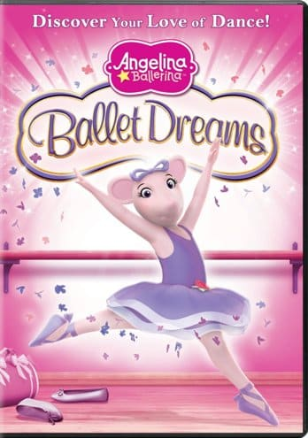 first dance recital gift ideas - Angelina Ballerina: Ballet Dreams (DVD)