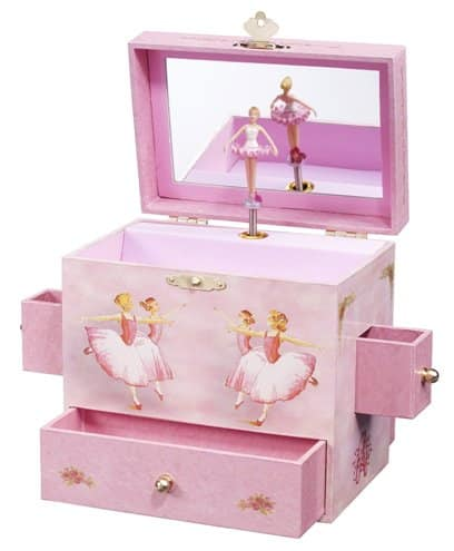 first dance recital gift ideas - Ballerina Treasure Music Box