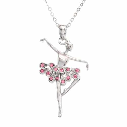 first dance recital gift ideas - Ballet Pendant Necklace