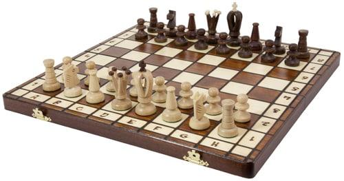 Royal 36 European Wood International Chess Set