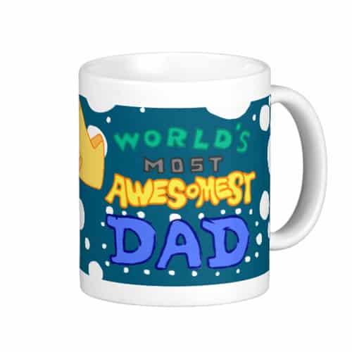 World's Awesomest Dad Mug