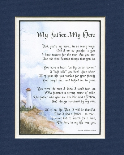 My Father, My Hero Poem