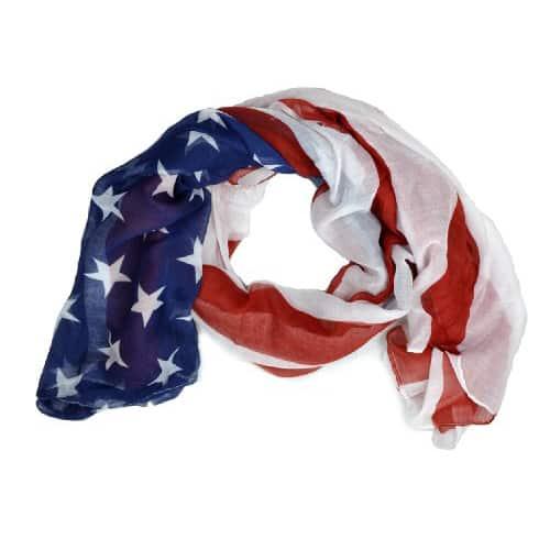 Patriotic Scarf