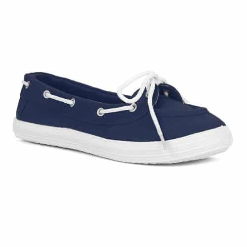Twisted Champion Casual Canvas Boat Shoe