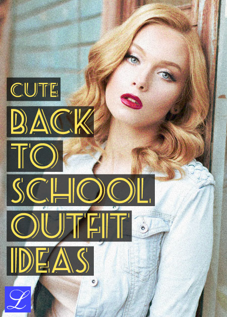 Back to School Outfit Ideas for Girls. School Clothes.