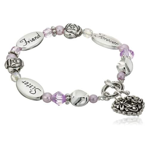 Sister, Friend, Forever Bracelet