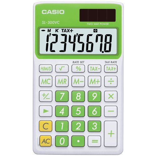 Casio SL-300VC Standard Function Calculator