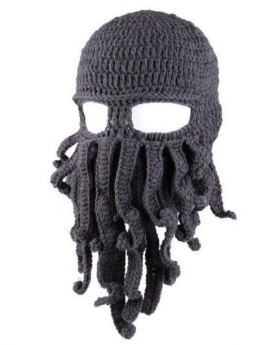 Octopus Face Mask Beanie