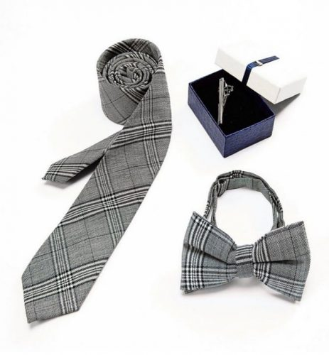 Bowtie and Necktie Set
