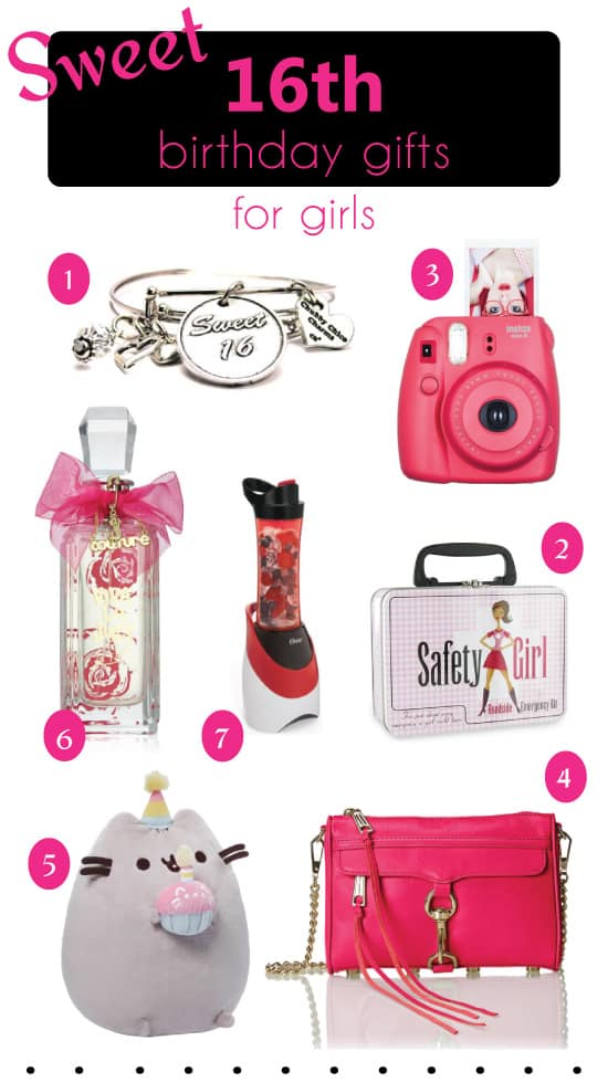 Sweet 16 Birthday Gifts Ideas For Girls That Theyll Love