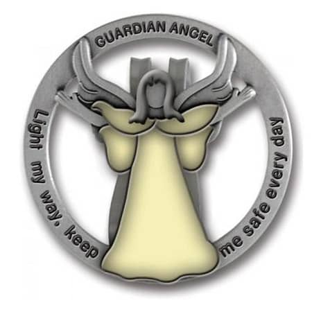 sweet 16 birthday gift ideas for teen girls - Cathedral Art Guardian Angel Visor Clip