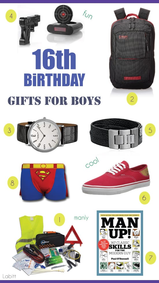 Gifts For 16 Year Old Boys 8 Gift Ideas Theyll Love