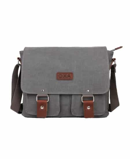 college graduation gifts for guys - Canvas Messenger Bag