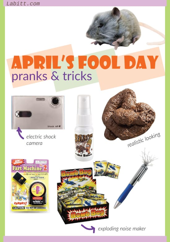 april fools day evil prank ideas. pin me!