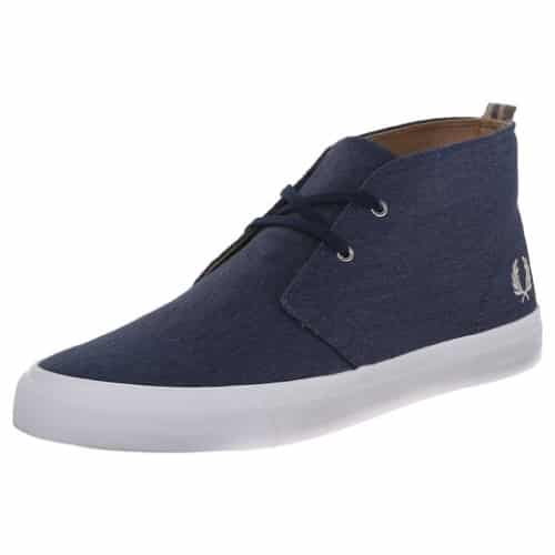 Fred Perry Men's Vernon Mid-Top Sneaker