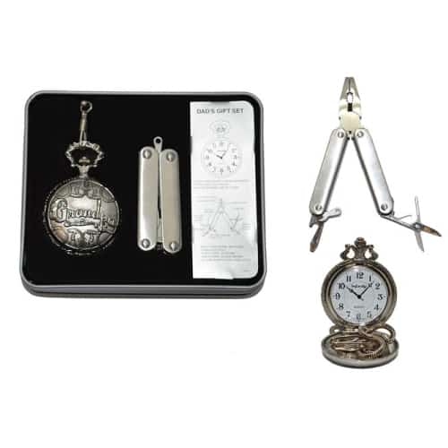 Grandpa Pocket Watch and Tool Set