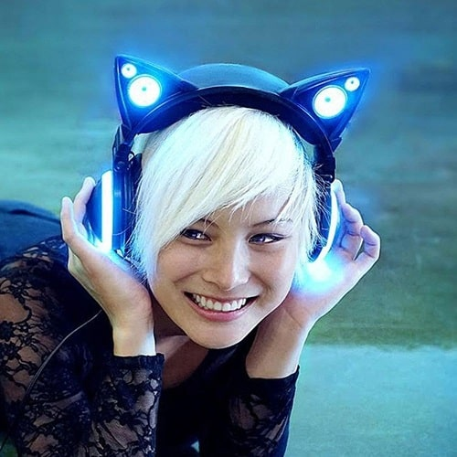 Cat Ear Headphones (Going to college gift ideas)