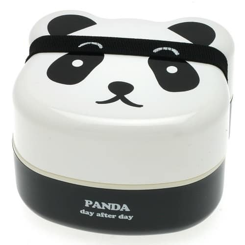 Panda Lunch Box. School supplies for college.