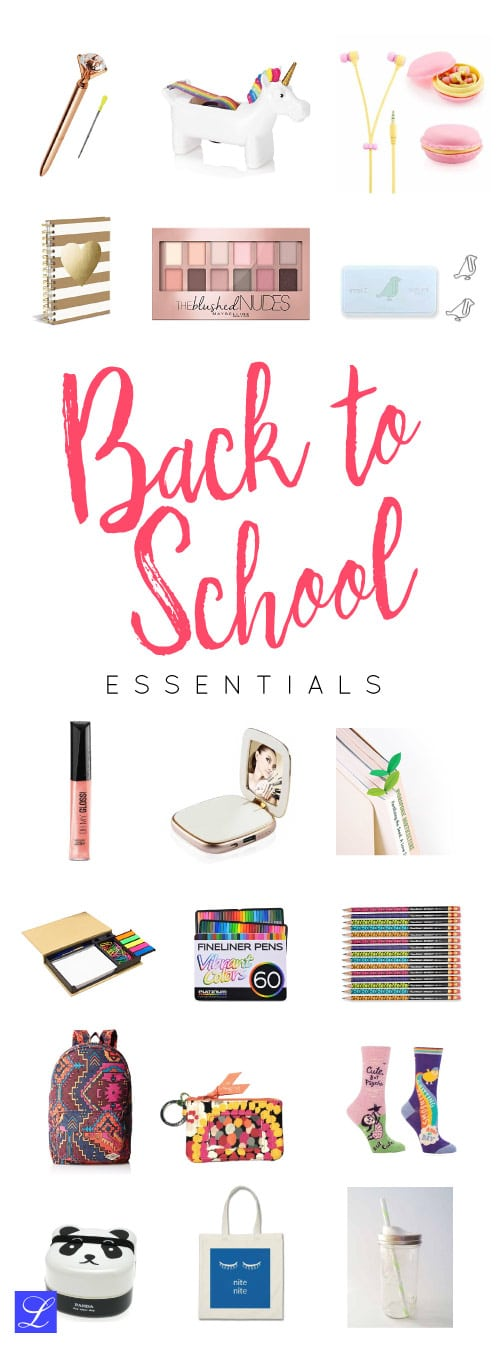 18 Ideas 18 Back To School Supplies   Stationery, Makeup, And More!