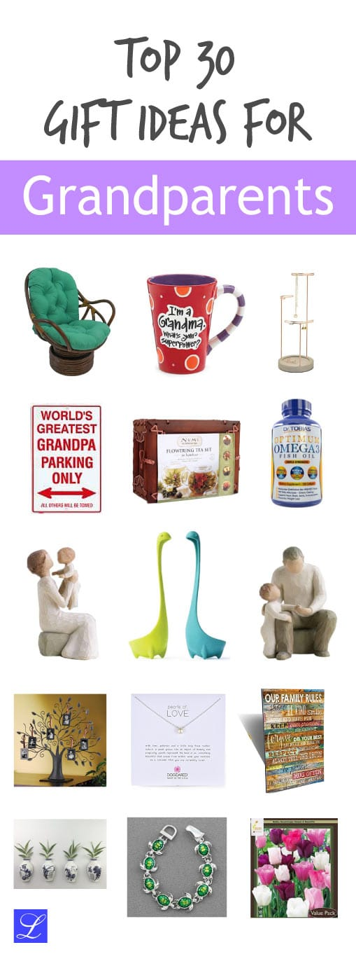 30 Gift Ideas for Grandparents Perfect for Christmas ...