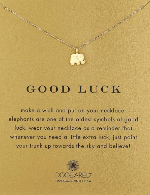 elephant good luck meaningful necklaces