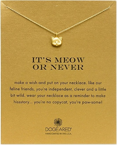 It's Meow Or Never Necklace