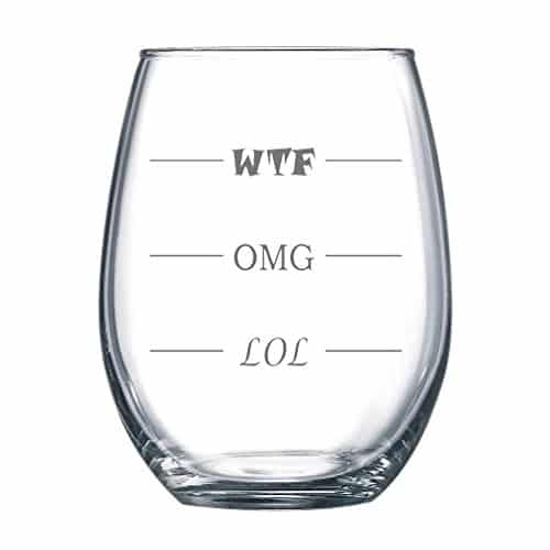 Funny Wine Glass for Every Mood