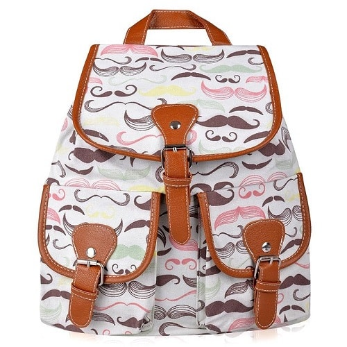 Mustache Backpack