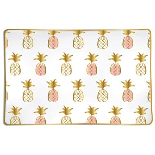 pineapples trinket tray | hostess gifts