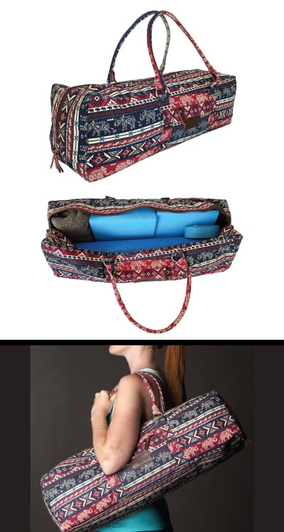 Karma Elephant Yoga Duffle Bag